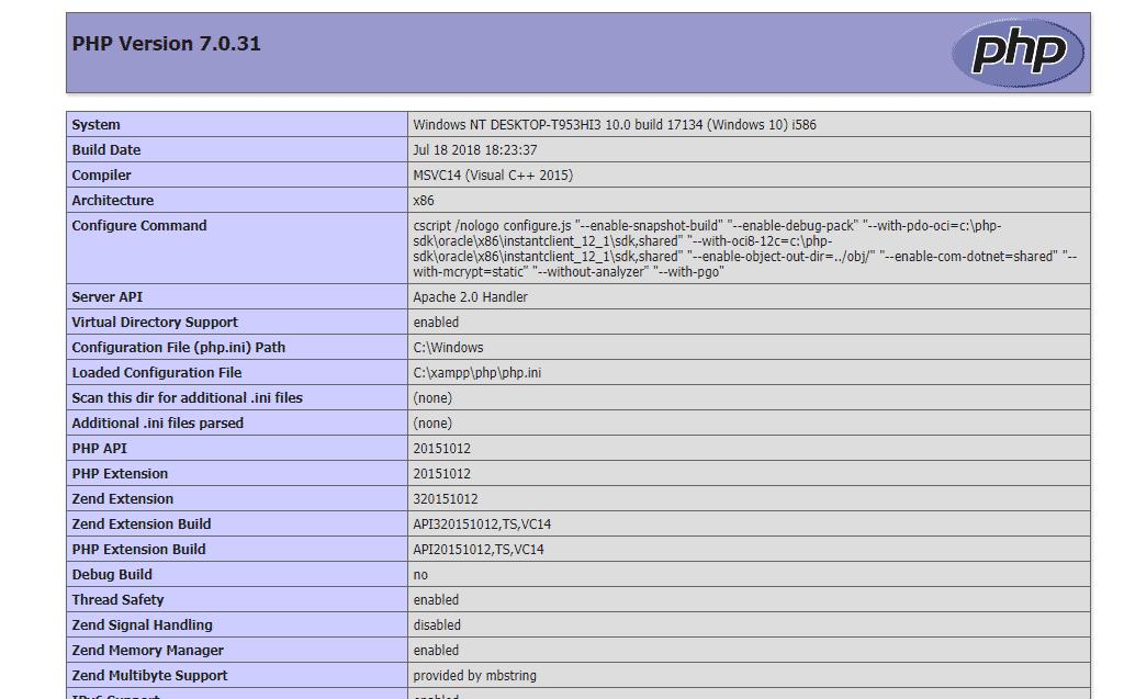 phpinfo-mod-rewrite - htaccess ลบนามสกุลไฟล์ php ด้วย mod rewrite