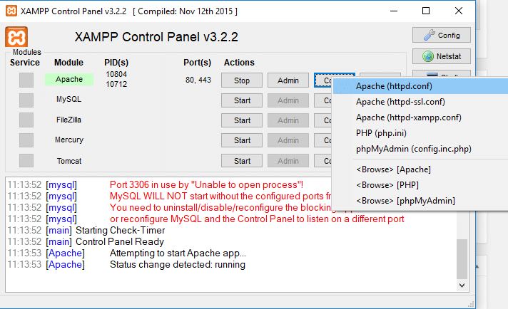 set-mod-rewrite-config - htaccess ลบนามสกุลไฟล์ php ด้วย mod rewrite