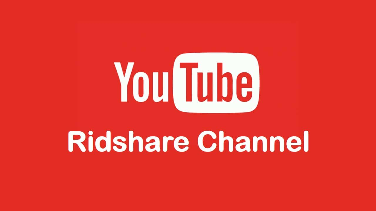 ridshare channel youtube
