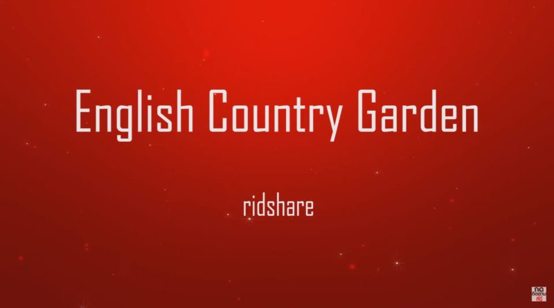 English Country Garden - Norma Rockwell